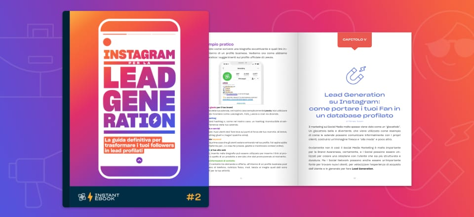 Instagram per la lead generation ebook gratuito