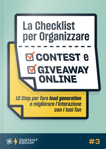 Leevia Instant Ebook 03 - La Checklist per Organizzare Contest e Giveaway Online